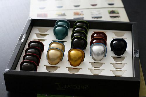 Les capsules Special T par Nestlé