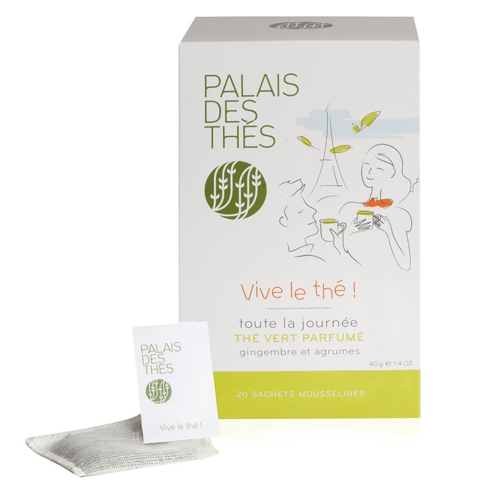 Thé vert Vive le thé ! : Palais des Thés