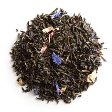 Thé noir parfumé à la violette