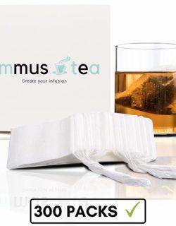 Sachets de thé biodégradables Limus Limus par 300