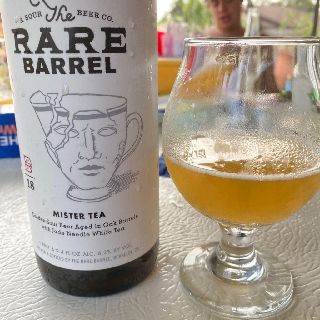 Bière Mister Tea - The Rare Barrel - photo par Savanna L.