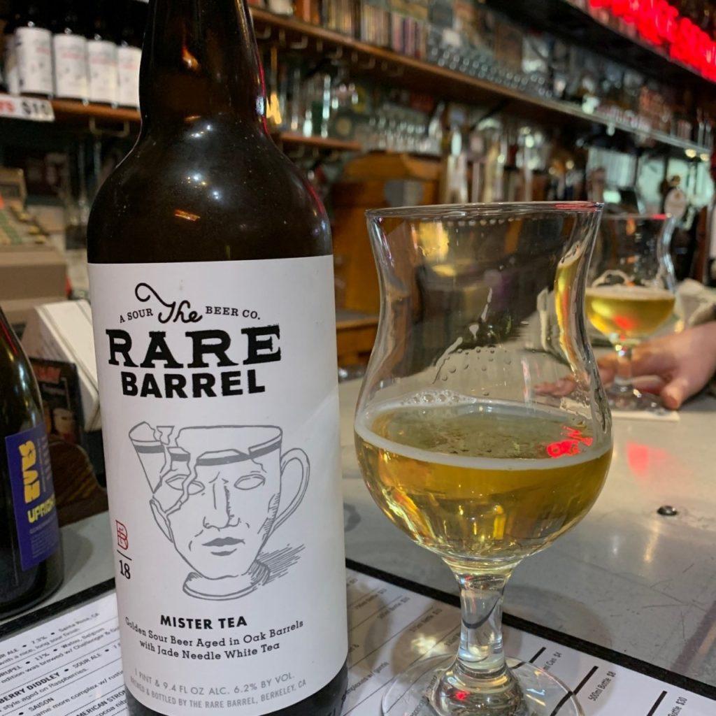 Bière Mister Tea - The Rare Barrel - photo par Hanne Ø.